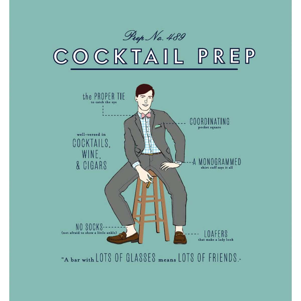 Limited Edition Cocktail Prep Tee